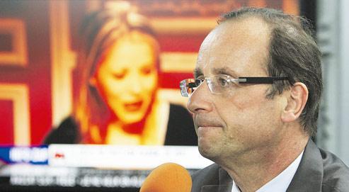 François Hollande (ici à Fort-de-France, le 4 juillet 2011) aurait reçu les confidences de Tristane Banon et de sa mère.