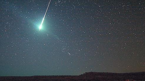 Un «bolide» pris en photo par la Nasa en 2008 dans le ciel américain. (crédit photo: Nasa)