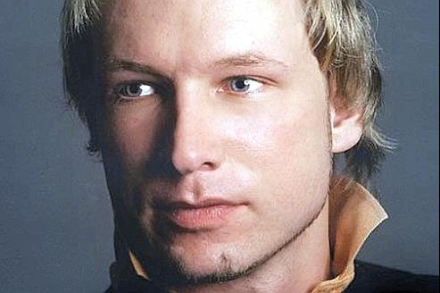 La photo de Anders Behring Breivik, postée par lui-même sur son profil Facebook.