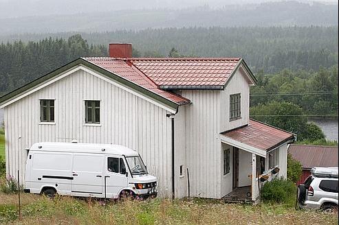 La ferme louée par Anders Breivik 1250 euros par mois.