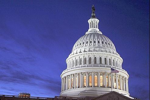 Le Capitole, à Washington, où siège le Congrès.