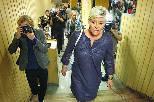 Le Parti du progrès de Siv Jensen est devenu en 2009 la deuxième force politique de Norvège.