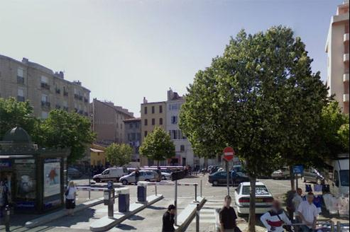 Le parking Jules Guesde à Marseille. Crédits photo : capture d'écran GoogleMaps