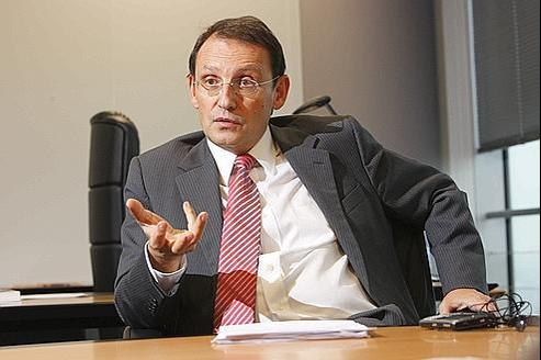 Pierre Mariania, directeur général de Dexia.