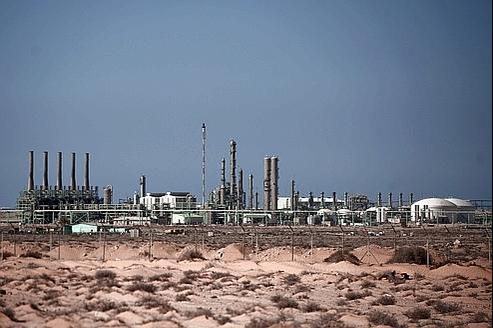 Redistribution du pétrole libyen en vue
