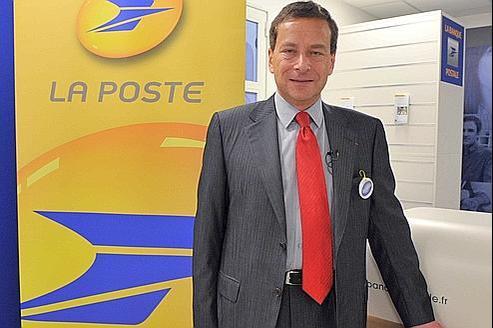 Jacques Rapoport, directeur général adjoint du groupe LaPoste et directeur général de l'enseigne LaPoste.