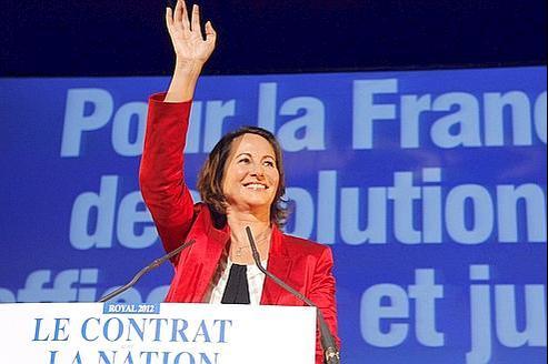 Ségolène Royal, samedi, à Montreuil près de Paris.