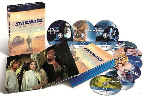 Star Wars, l'Intégrale de la Saga - Blu-Ray, Inclus les 3 Blu-ray de Bonus avec plus de 30 heures de contenu - le Booklet de 28 pages de photos.