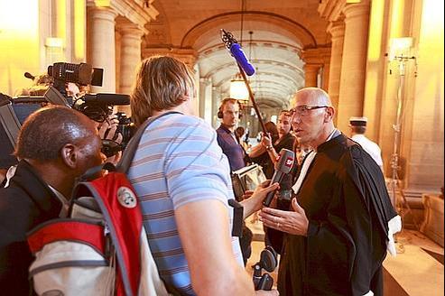MeJérôme Karsenti, avocat de l'association Anticor, lors de l'ouverture du proçès des emplois fictifs de la Mairie de Paris, début septembre.