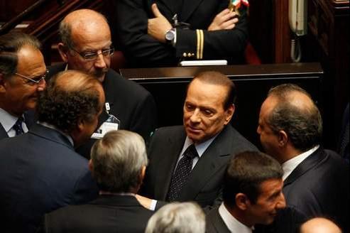 Le chef du gouvernement italien, Silvio Berlusconi