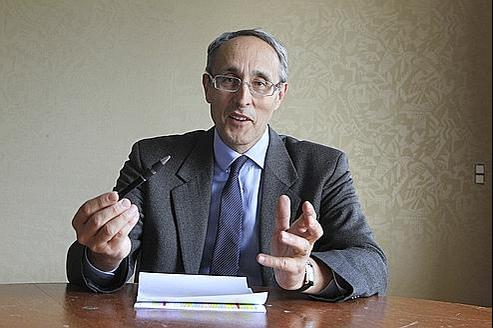 Bernard Bigot, haut-commissaire à l'énergie atomique et aux énergies alternatives.