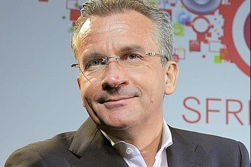 Frank Esser, PDG de SFR.