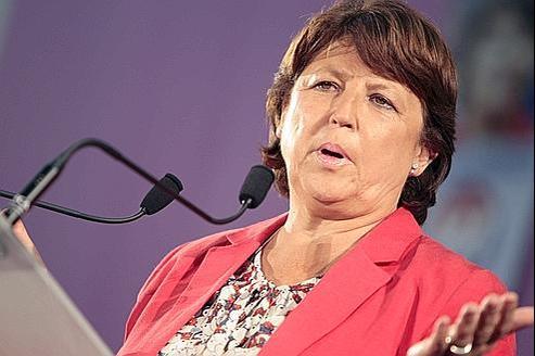 Martine Aubry le 26 septembre.