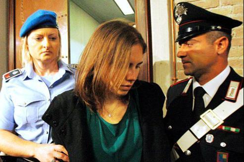 «Je ne veux pas être punie pour un acte que je n'ai pas commis. Je veux rentrer chez moi» a déclaré la jeune femme. (Crédits photo: AP)