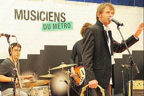 Les mini-concerts organisés pour les Musiciens du métro.