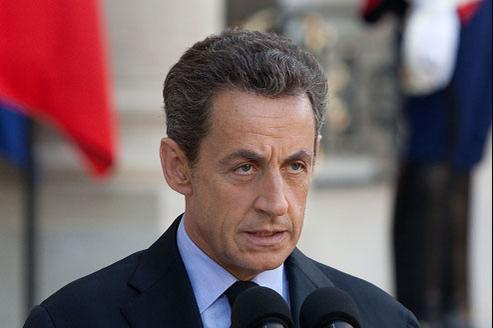 Nicolas Sarkozy, ici le 30 septembre 2011. (Crédits photo: ABACA)