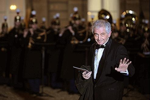 Ivan Levaï au palais de l'Élysée en 2008.