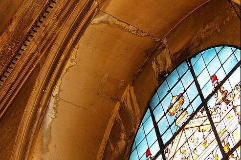 L'église Saint-Philippe-du-Roule (VIIIe arrondissement). Faute de moyens, de nombreux travaux ne peuvent être engagés rapidement.
