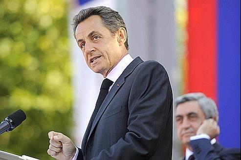 En visite en Arménie, Nicolas Sarkozy a demandé à la Turquie de reconnaître le génocide