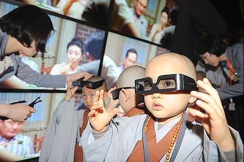 Les images 3Dreprésentent un risque pour les enfants