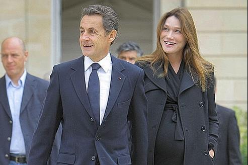 Carla Bruni-Sarkozy et Nicolas Sarkozy le 17 septembre dernier lors des journées du patrimoine. Une de leur rare aapparition commune officielle.
