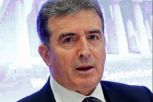 Michalis Chryssohoïdis, le ministre grec du développement.