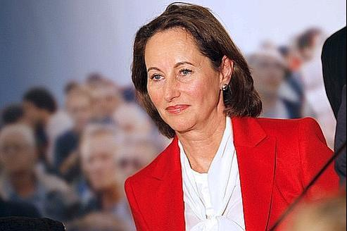 Ségolène Royal appelle à voter François Hollande