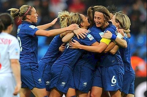 En juillet dernier, les «Bleues» atteignaient les demi-finale de la Coupe du Monde. Crédit Photo : AFP