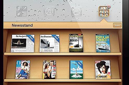 Les principaux éditeurs de presse quotidienne et magazinene distribueront pas leurs titres dans NewsStand, le kiosque numérique d'Apple.
