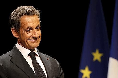 Nicolas Sarkozy, lors d'une conférence à Paris, en juillet 2011.