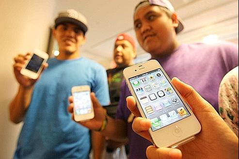 4millions d'iPhone 4S vendus en 72heures