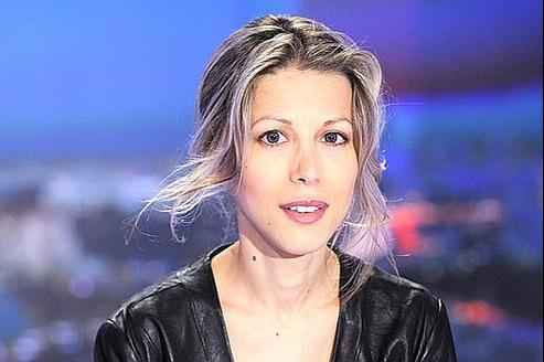 Tristane Banon sur le plateau du 20 heures de TF1, le 29 septembre.