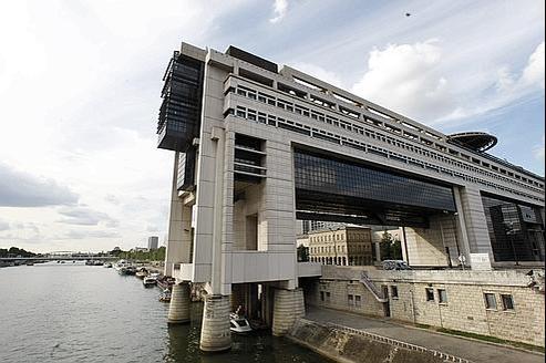 Le siège du ministère de Finances à Bercy.