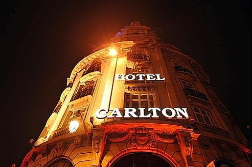 L'hôtel Carlton à Lille.