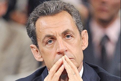 Le président de la République, Nicolas Sarkozy