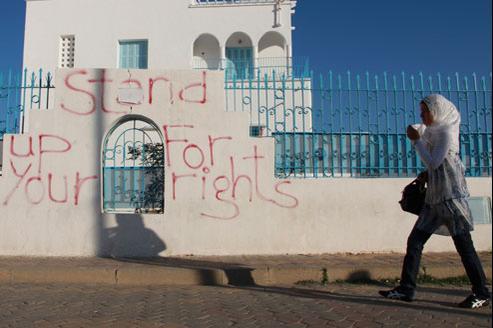 Sidi Bouzid, la ville où commença la protestation arabe. (Crédits photo: AP)