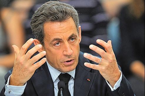 Nicolas Sarkozy, mardi à Carcassonne. «Nous allons essayer d'aller au fonddes choses», a-t-il confié, mercredi, à propos de l'émission de jeudi soir.