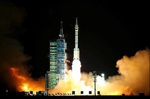 Premier rendez-vous spatial pour la Chine