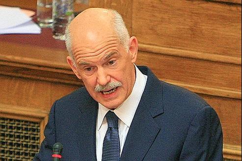 Georges Papandréou, le premier ministre grec.