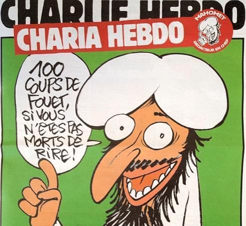 Dans ce numéro, le lecteur peut trouver un «édito de Mahomet» intitulé «L'apéro Halal», une double page de dessins pour expliquer «la charia molle» ou encore un supplément «Charia Madame».