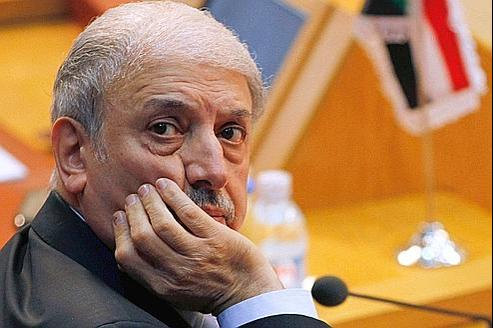L'ambassadeur syrien à la Ligue arabe, Yousef al-Ahmed.
