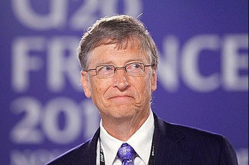Bill Gates, au sommet du G20.