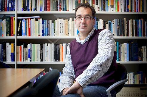 Diederik Stapel, professeur de psychologie sociale à l'universitéde Tilburg.