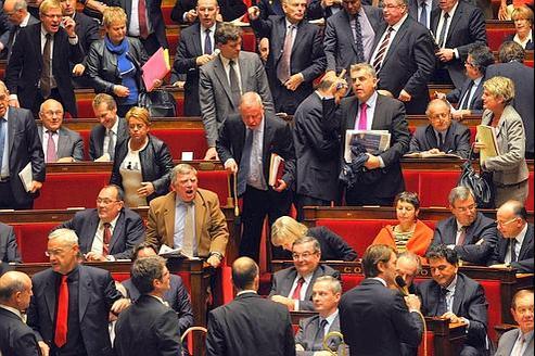 François Baroin déclenche une bronca à l'Assemblée