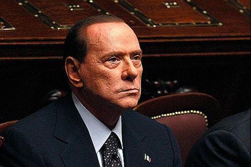Silvio Berlusconi mardi, pendant le vote à la Chambre des députés.