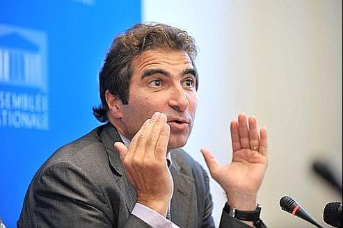 Christian Jacob, patron du groupe UMP à l'Assemblée.