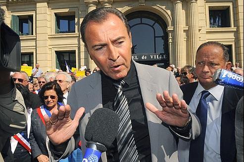 Lionnel Luca, ici en mai 2010 à Cannes.