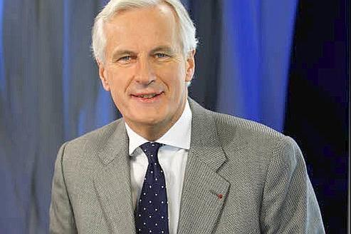 Michel Barnier, commissaire européen chargé des Affaires financières. Crédit : Jean-Christophe Marmara/Le Figaro
