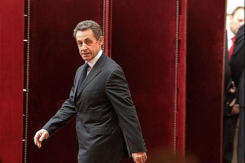 Nicolas Sarkozy, hier, à l'Élysée. Le chef de l'État est convaincu que le nucléaire reste une industrie consensuelle.