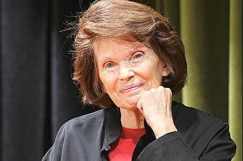 Danielle Mitterrand, le 4 octobre dernier à Paris.